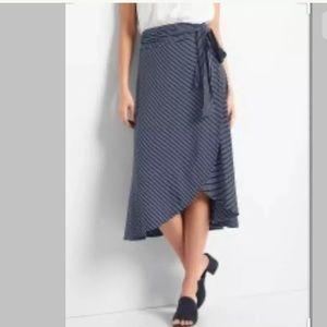 NWT Gap Softspun Wrap Midi Skirt